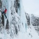 women's ice climbing trip to Iceland