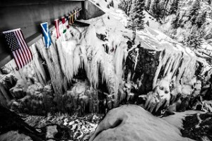 The Ouray Ice Park. Photo by: Bill Grasse.